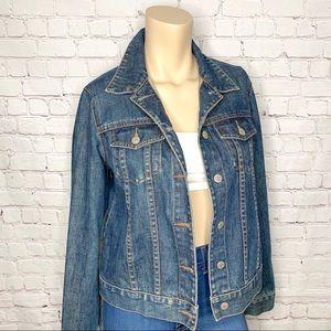 J. CREW Blue Denim Jean Jacket Size S